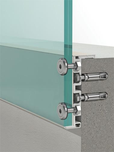 Aluminum Window Channel : Crystaline aluminium glazing channel sgp